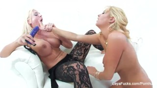 Leya Falcon Blonde Lesbian Fun Sex view