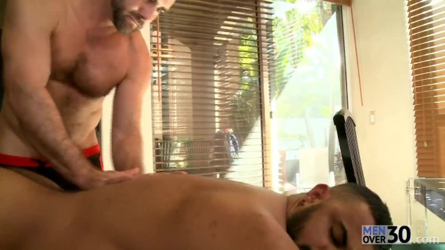 Hairy men over fifty gay - Hot anal from these 30 year olds