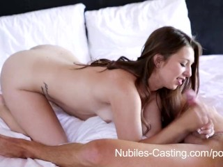 Romy Schneider Sissi Nubiles Casting - Hardcore porn audition for fresh newcomer