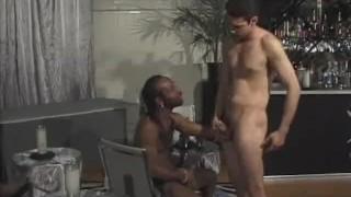 Hot cock interracial butt sucking and fucking deepthroat ir