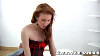 Preview 6 of Sexy Camilia in lingerie fucking black guy with big cock