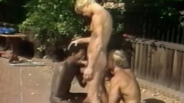 80s gay porn Outdoor threeway and voyeur - classic 80s gay porn student bodies