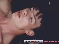 Teacher Peter North fucked by student Rick Donovan in THE BIGGER THE BETTER