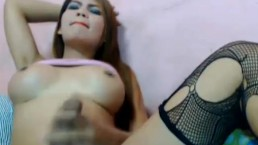 Big Cock Tranny Hard Masturbation