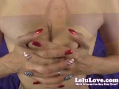 Lelu Love-POV Fingering Masturbation JOE