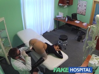 First Class Ass Fakehospital Perfect Busty Slim Patient Loves The Doctors Cock Cure