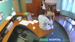 FakeHospital Busty new staff member sucking and fucking for job