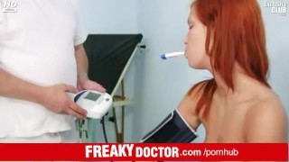 Aged doctor spreads pussy of a tiny redhead Electra Angels Tits webcam