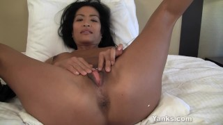 Asian MILF Tia Vibrating Her Pussy  masturbation big-tits mom masturbate amateur solo sexy-feet busty softcore pierced wet mother big-orgasm fingers multiple-orgasms tasting