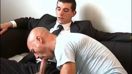 I won't sign the contract until you let me suck your huge cock of str8 guy