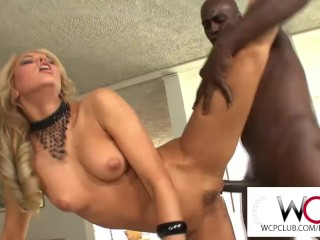 West Coast Productions Aleska Diamond goes anal with a BBC