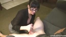 Brunette Milf Loves Big Cocks