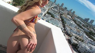 Mofos Tattooed blonde loves anal