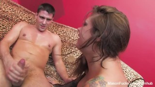 Titjob an gives moore awesome mason big pornstar