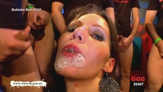Small compilation of the best bukkake whores just for your viewing pleasure porno