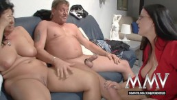 MMV Films sex nanny watches a mature couple