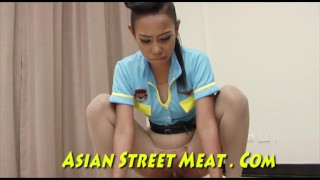 Meat Hook Anal Chained Up Stainless Asian Bugger