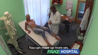 Fakehospital Doctor Probes Patients Pussy With His Cock
