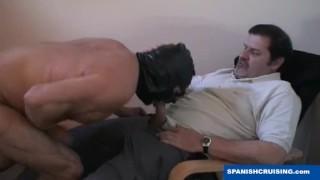 Bear fucking daddy hung macho monster
