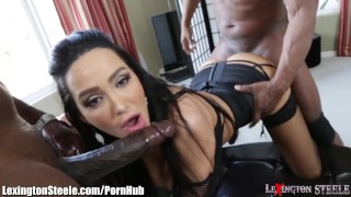 Spitroast bbc anderssen lexingtonsteele amy 3some roast