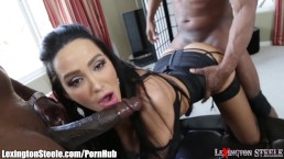 Raven Bay with Doctor's big black dick
