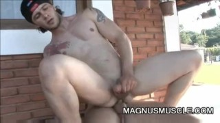 And outdoor arcanjo anal amaro handsome sex men felix stulbach outside sucking