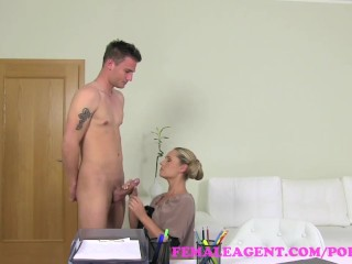Prison Shower Tube FemaleAgent. Unexpected casting fucks MILF agent beautifully