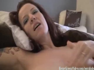 Annabelle Jerks a Fresh Load Form Neighbors Cock