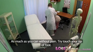 Surgery big czech love woman of advantage takes boobs in creampie doctor orgasm cum