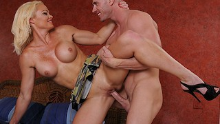 Naughty Milf loves young cock Brazzers