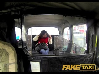 FakeTaxi UK chav gets her ass spanked and pussy pounded