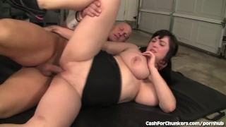 Hard girl chubby fucked gets cute ass tits