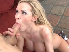 Busty babe Nikki Benz gets fucked