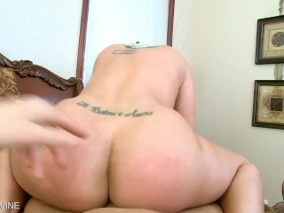 Chubby blonde wife nude