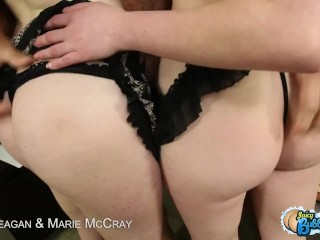 Bubble assed faye reagan and marie mccray fucking in threesome