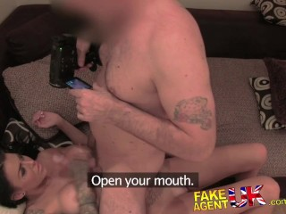 FakeAgentUK Good hard fucking for sexy tattooed Brit