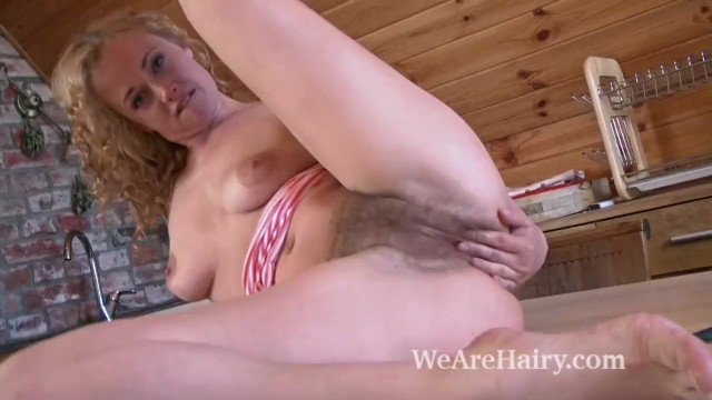 We fucked at work Beautiful hairy babe nika working in the kitchen