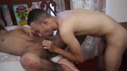Ebony twinks getting railed from behind