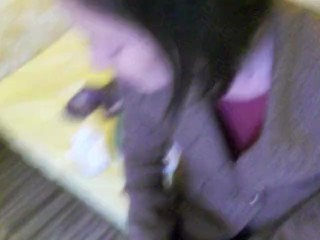 First Steps of The Pornstar Sylvia Chrystall from 2011! #1 Blowjob Swallow.