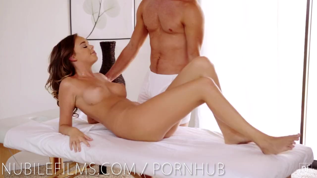Nubile films trembling orgasm for sexy young coed 3