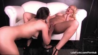 Lola Foxx Fucks Vanessa Cage Dick tits