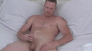 Naughty Straight Guy Hef Masturbating Anal amateur