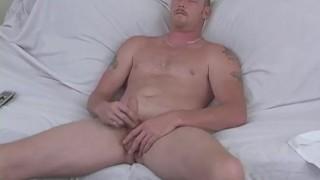 Naughty Straight Guy Hef Masturbating