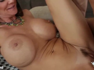 Preview 1 of Chesty milf Deauxma riding a big dick
