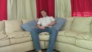 Horny Straight Guy Johnny Masturbating