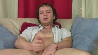 Horny Straight Guy Johnny Masturbating