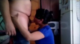 indian amateur horny bhabhi giving blowjob