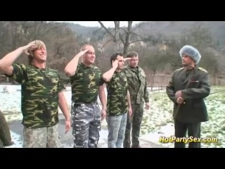 Masterbaiting Videos Military Chick Gets Soldiers Cum, Bukkake Gangbang Role Play