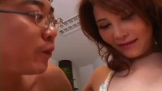 Hot Asian brunette likes to fuck