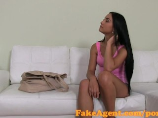 Soft Porn Gallery FakeAgent 18 year old babe fucked hard in interview